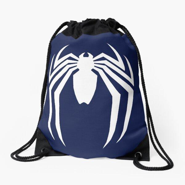 Sharp Spider Logo Drawstring Bag