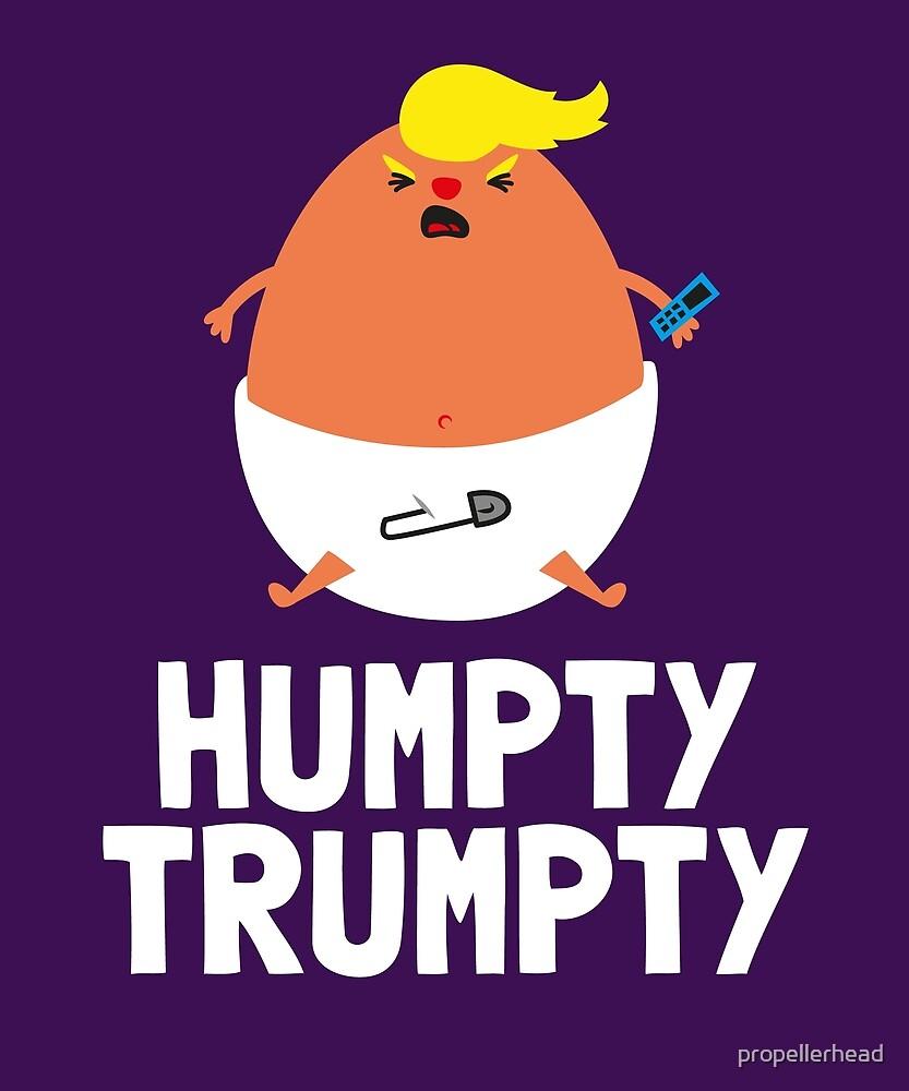 Humpty Trumpty - Anti Trump by propellerhead