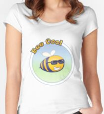 Bee Cool Women's Fitted Scoop T-Shirt