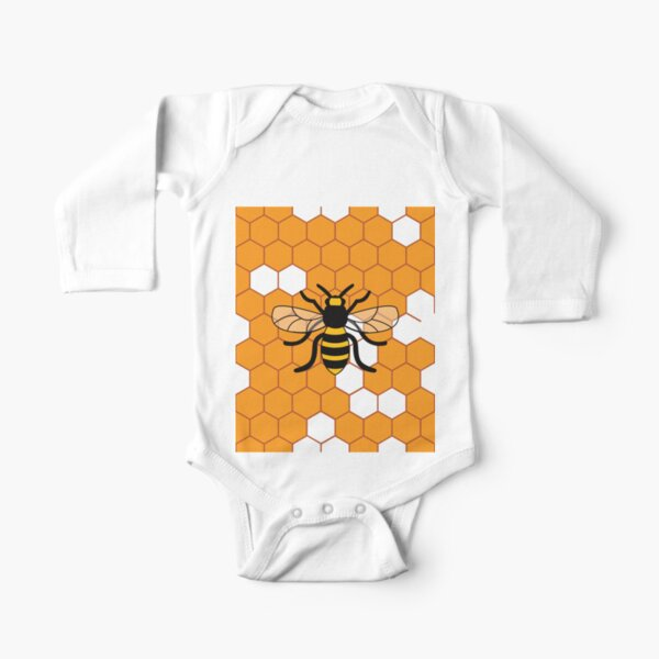 Bees /& Honeycomb Shortie Romper