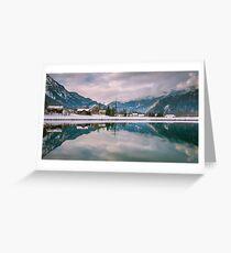 Alpine winter, Austria Greeting Card