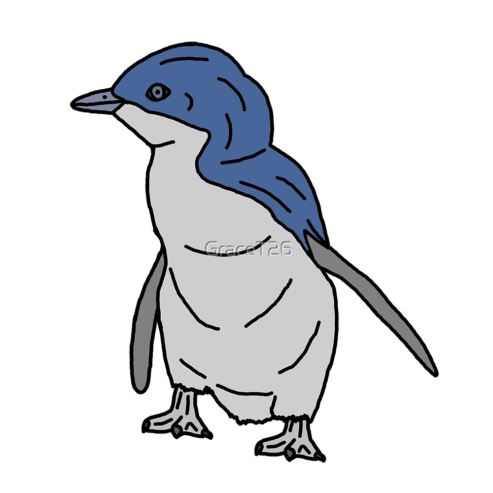 Little Blue Penguin by GraceT26