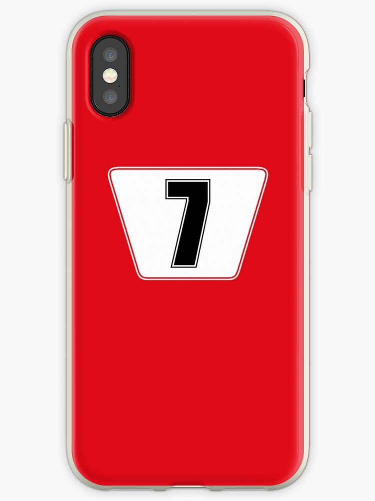 F1 Ferrari Raikkonen Phone Case by jm95