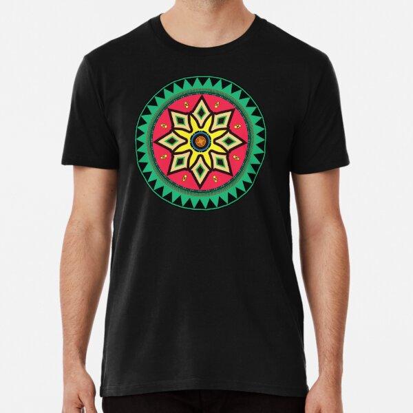 African Ethnic Motif Premium T-Shirt