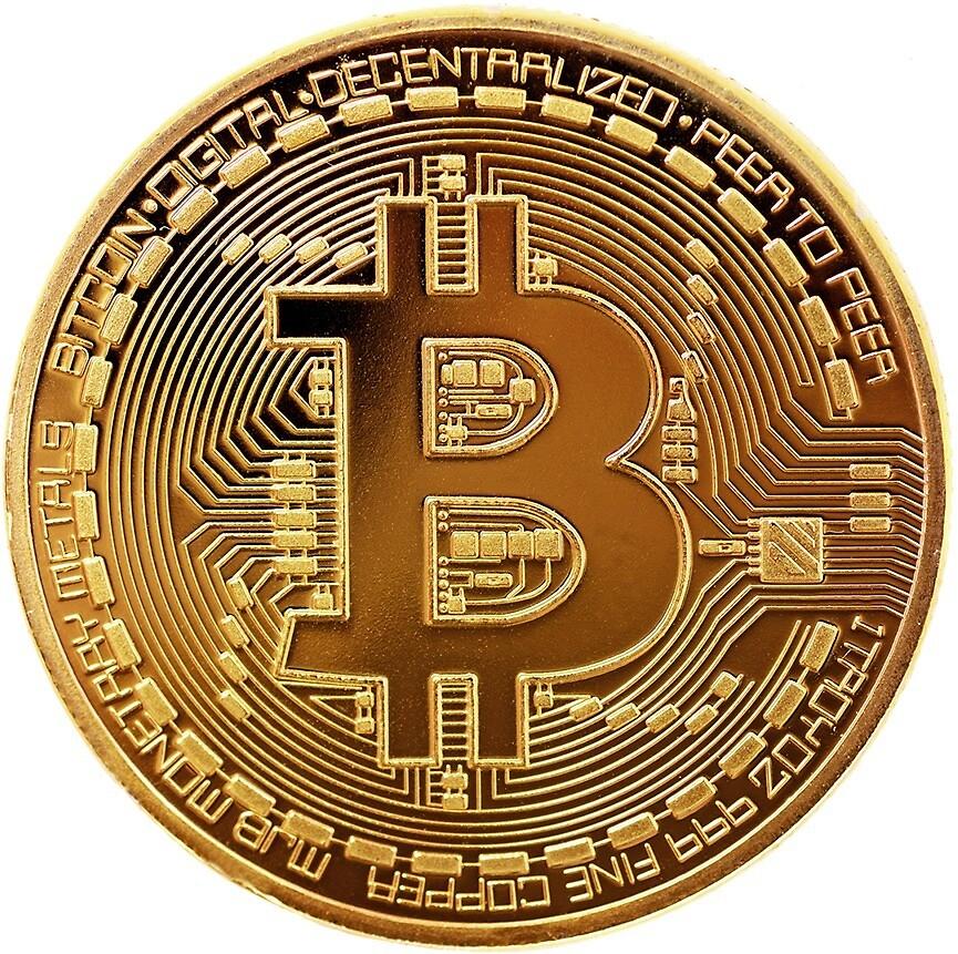 bitcoin by Iskanderox