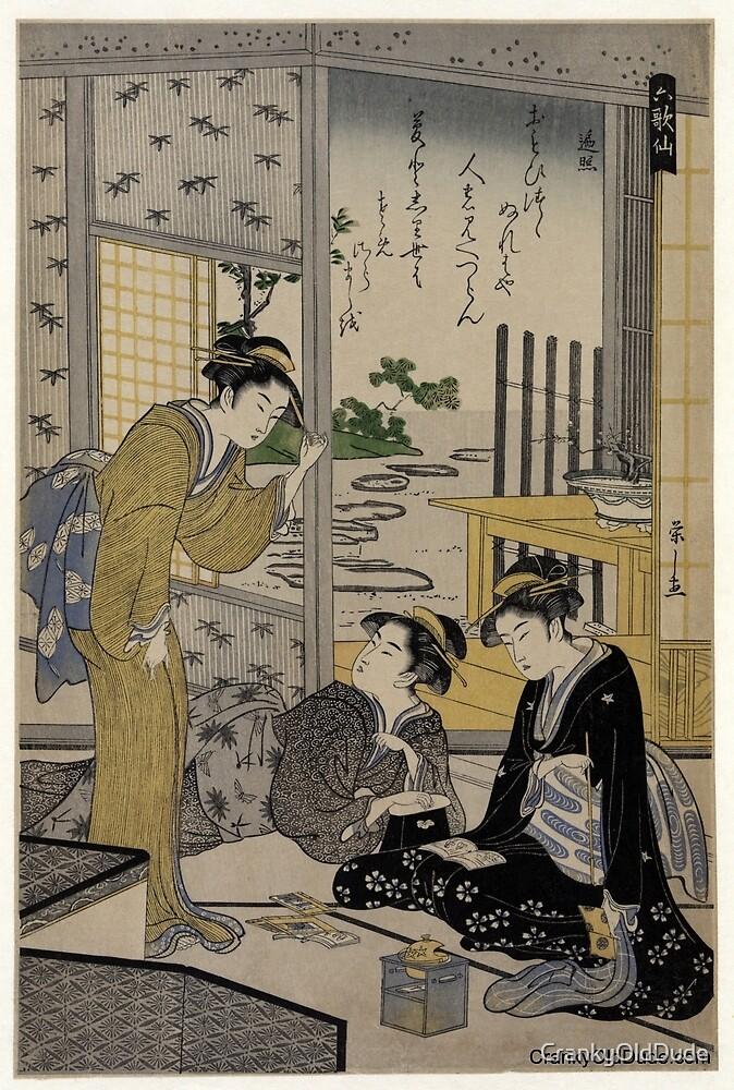 Sojo Henjo - Eishi Hosoda - 1795.tif by CrankyOldDude