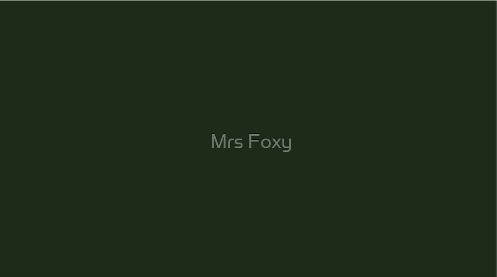 Green Collection by Mrs Foxy