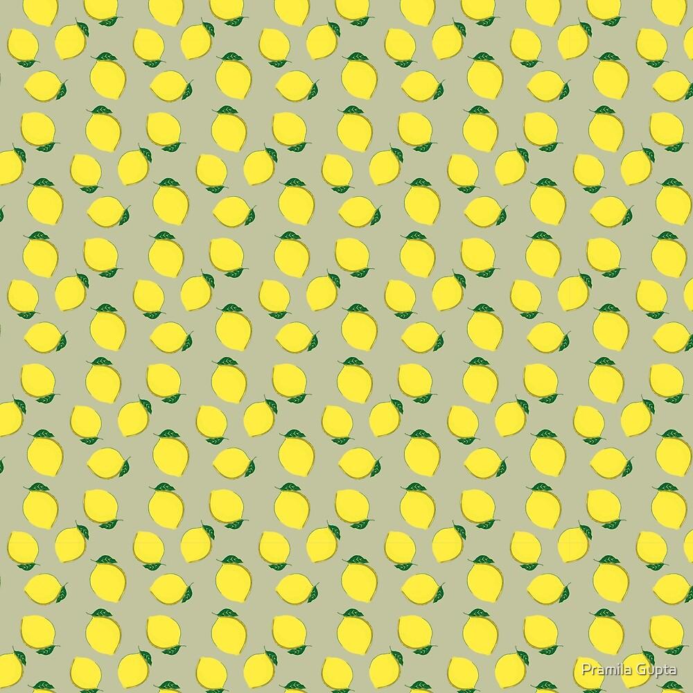 Yellow Lemons by Pramila Gupta