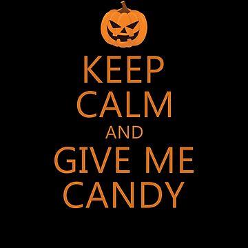 Halloween keep calm candy by omar77
