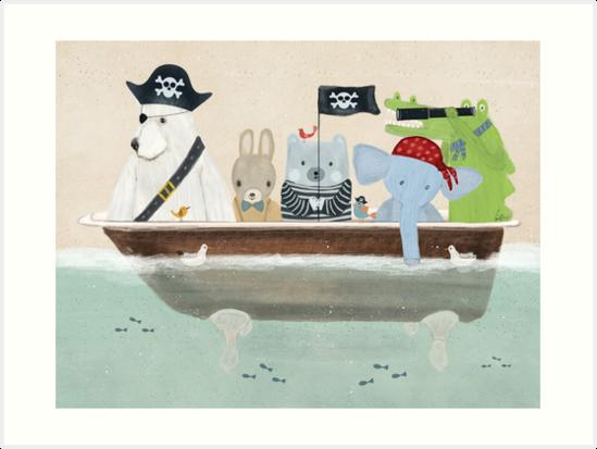 the pirate tub by bri-b