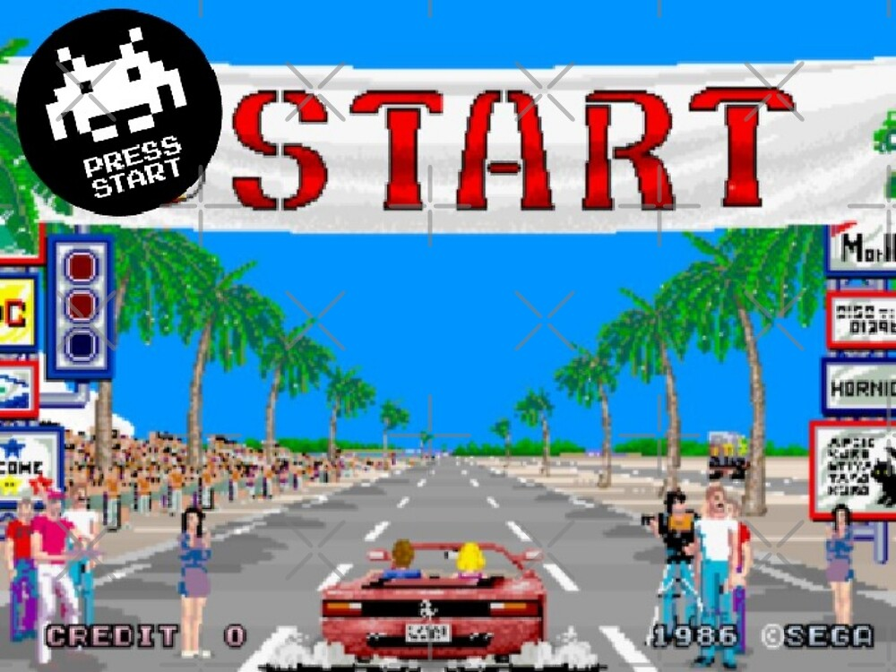 OUT RUN by PRESS START