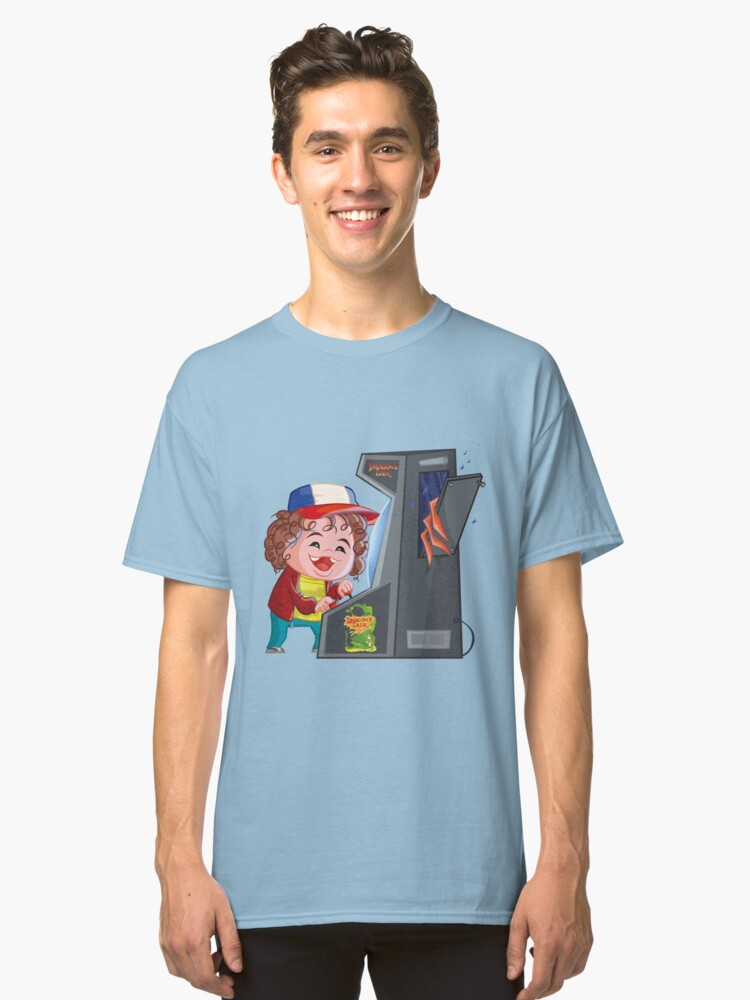 Dustin Things  Classic T-Shirt Front
