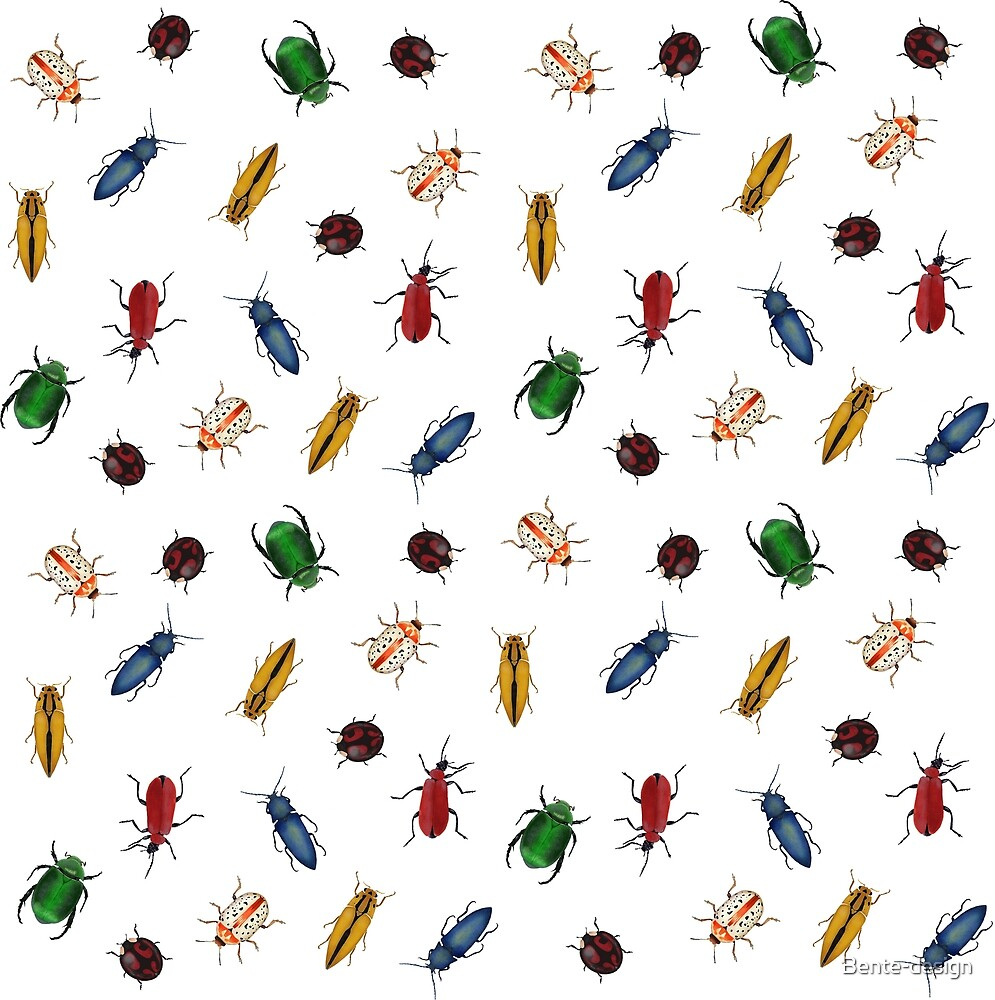 Army of bugs by Bente-design