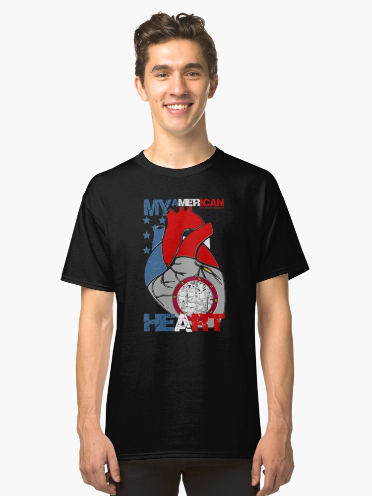 My American Heart Classic T-Shirt Front