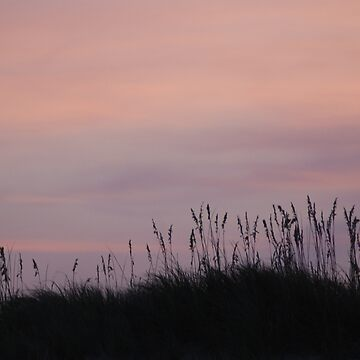 The day ends over the dunes by CCCreations