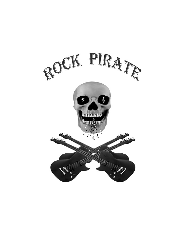 flag of cheerful rock pirates by farmer248
