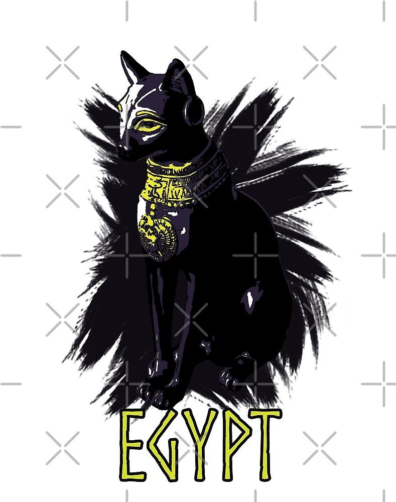 Egypt cat by JutaLovelace