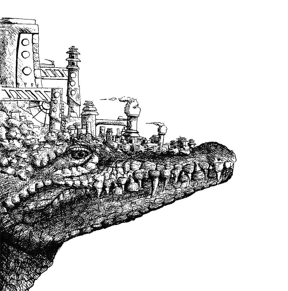 Croc by AJ-Bismilla