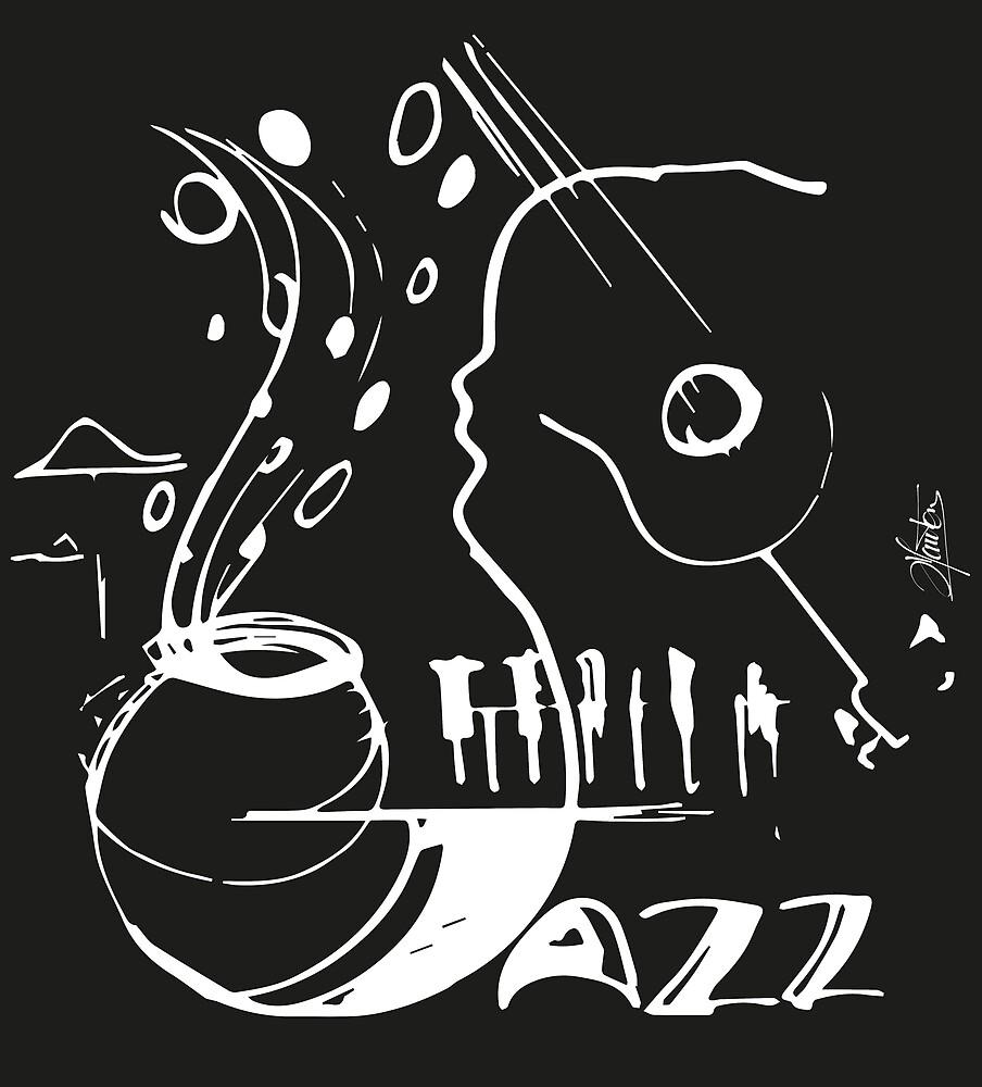 The sound of jazz by hauton-stephane