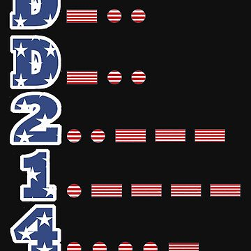 DD-214 US Navy Patriotic Alumni T-shirt by Picart13