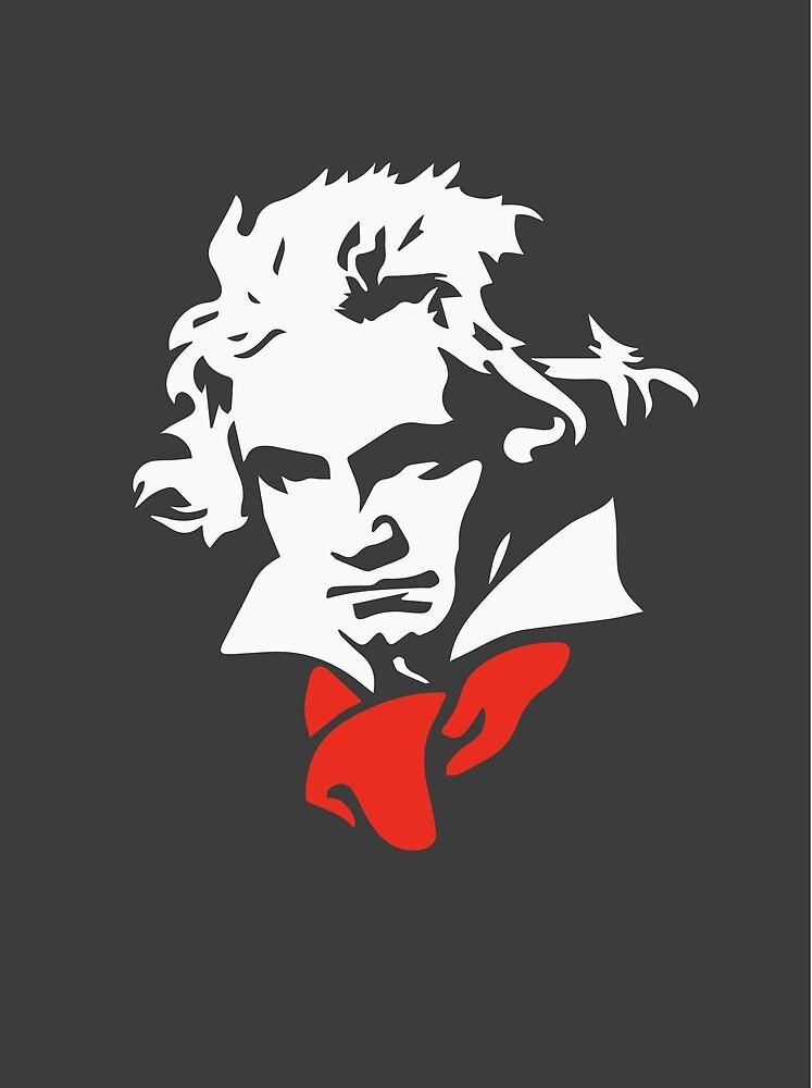 Ludwig van Beethoven by Dipardiou