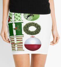Christmas Fishing Mini Skirt