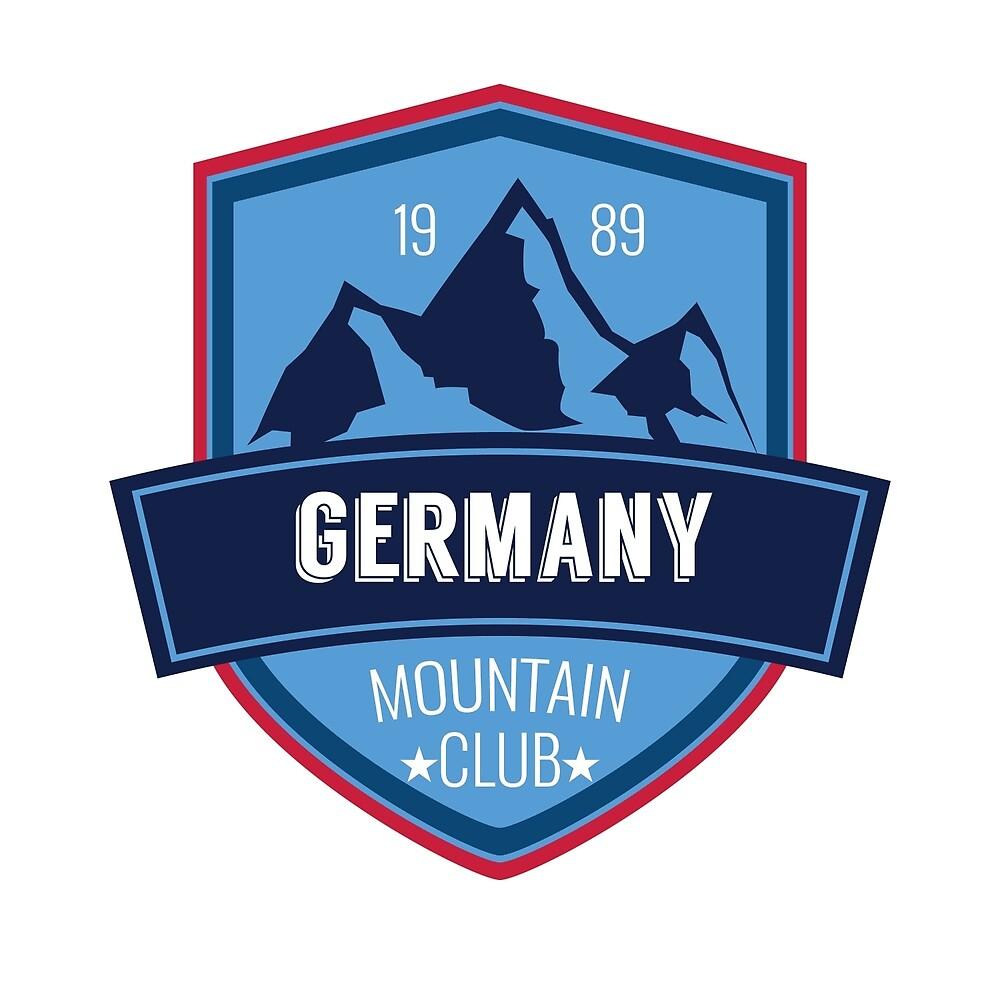 Germany Europe mountains blue by EdoFra