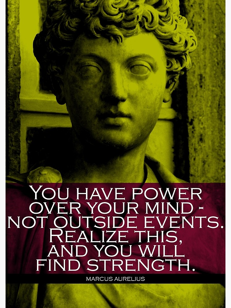 Marcus Aurelius Quote 3 by pahleeloola