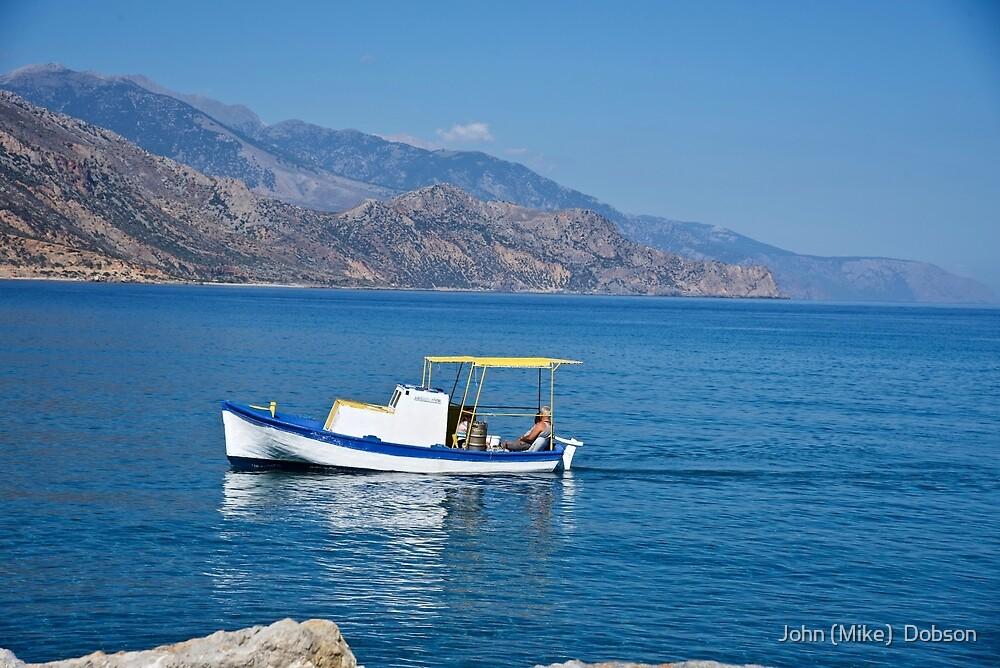 Paleochora, Crete, Greece by John (Mike)  Dobson