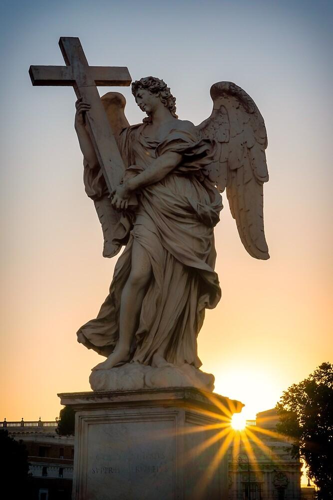Sunrise angel by kulaone