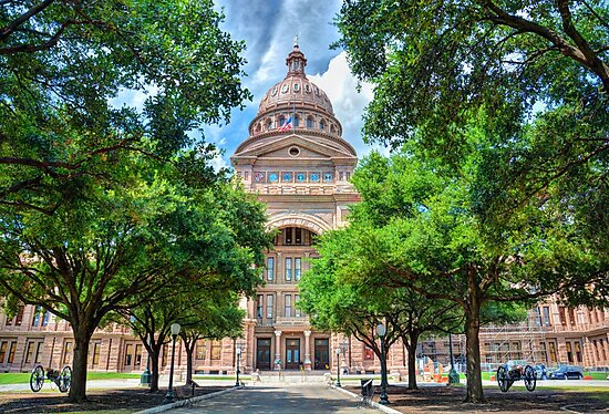 Texas State Capital by S Gibbs