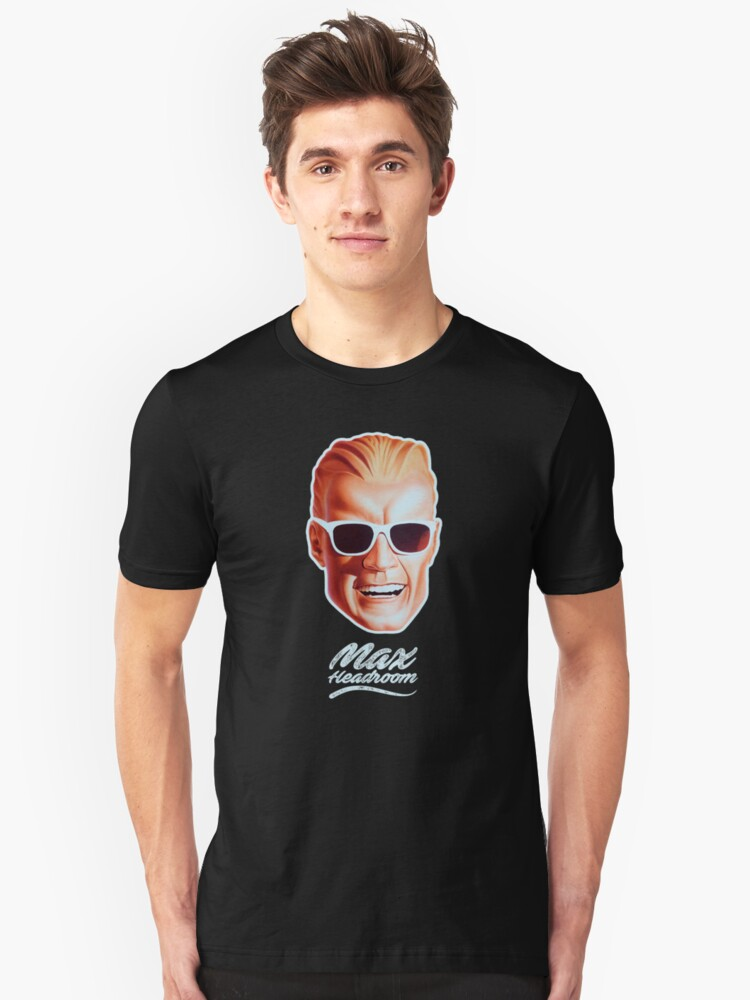 Max Headroom Unisex T-Shirt Front
