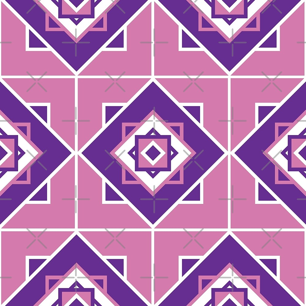 Seamless pattern texture. Geometric ornament by asnia