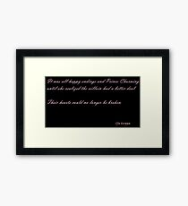 Happily Never After Framed Print