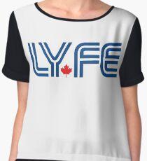 Toronto LYFE!!! Chiffon Top