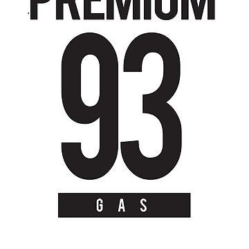 Premium 93 GAS Tshirt by athenaasketch