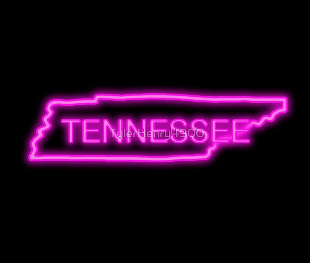 Tennessee neon pink by TylerHenry4900