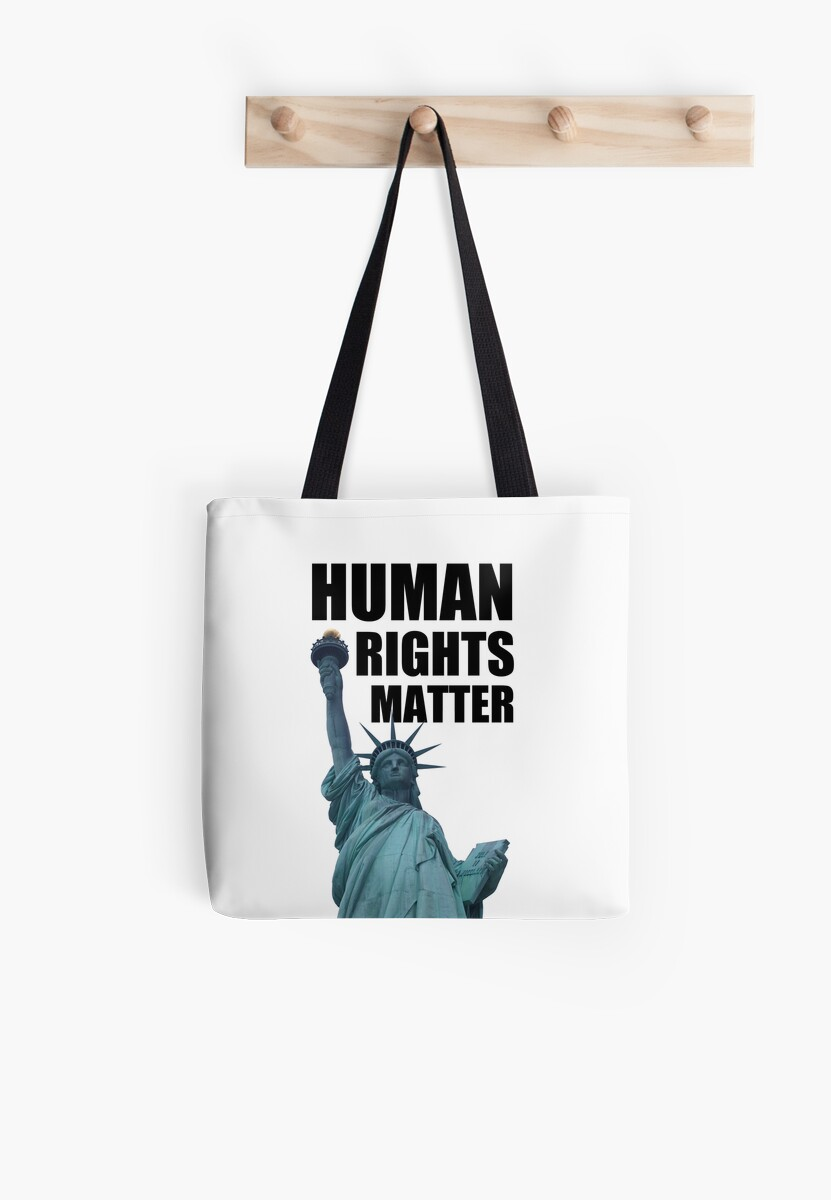 Human Rights Matter - Statue of Liberty by ResistNow