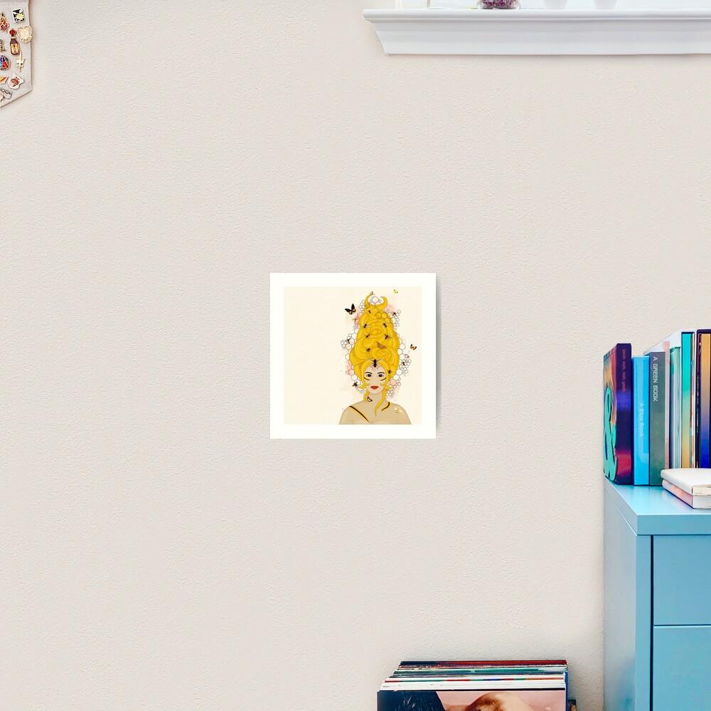 Rococo: The Queen Bee Art Print
