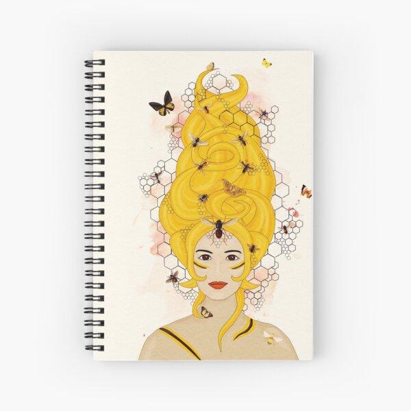 Rococo: The Queen Bee Spiral Notebook