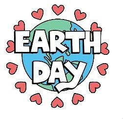 earth day hearts by stickersnstuff
