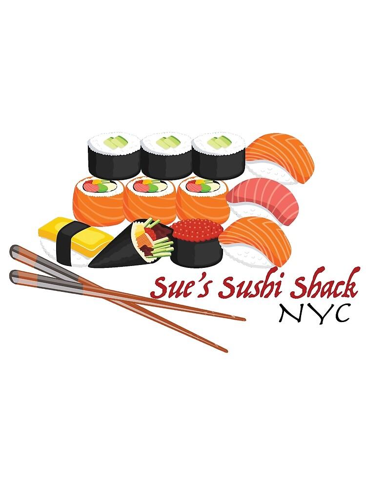 Vintage Sushi: Sue's Sushi Shack NYC by bostonterrier21
