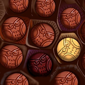 Chocolate Owls by Redilion