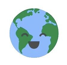 happy earth by stickersnstuff