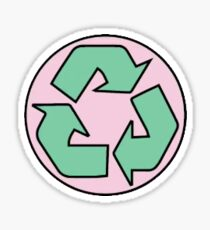 recyceln Sticker