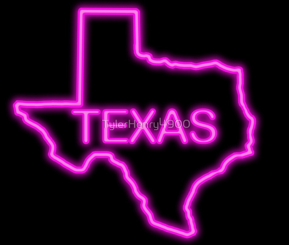 Texas neon pink by TylerHenry4900