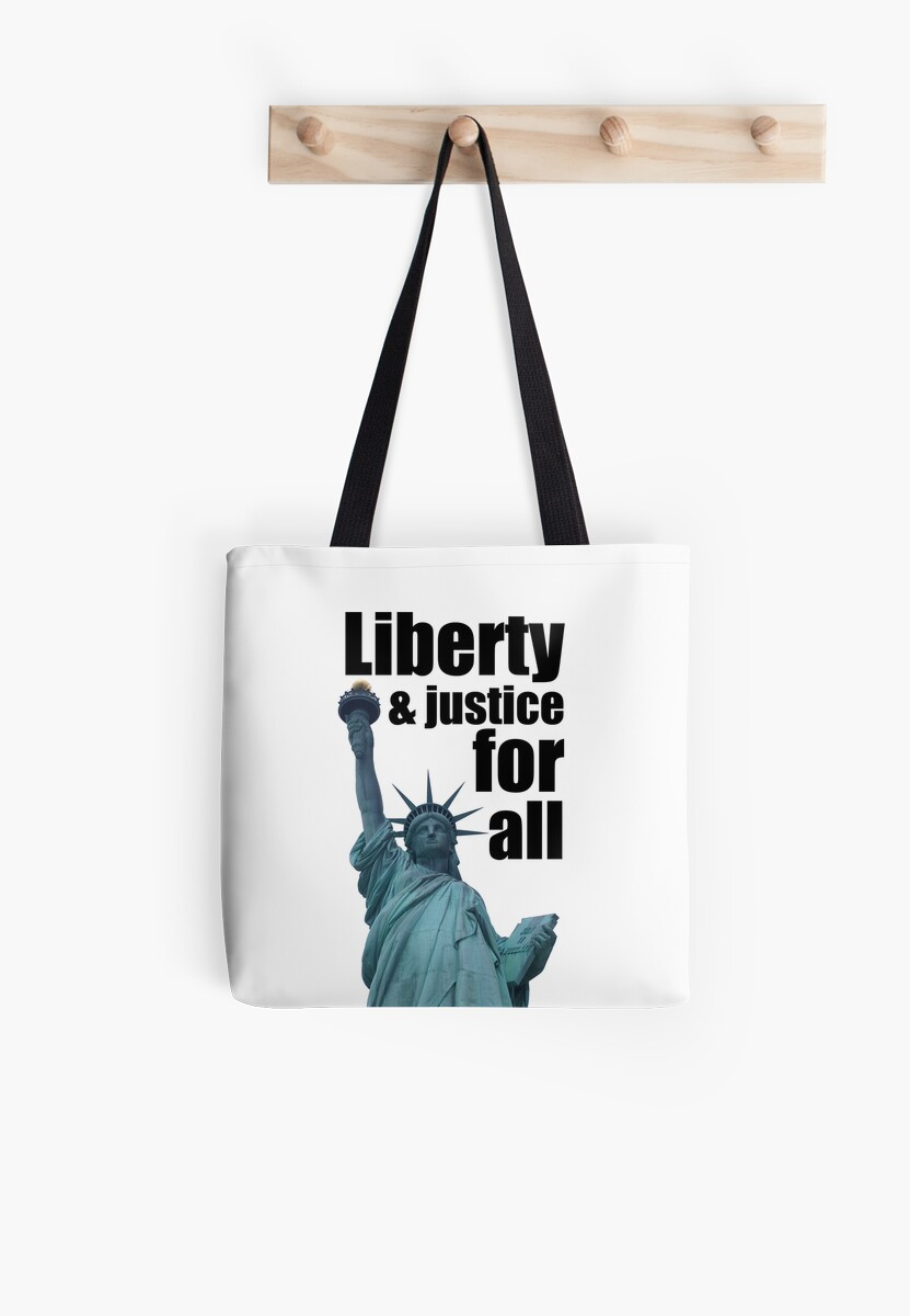 Liberty And Justice For All - Statue of Liberty by ResistNow