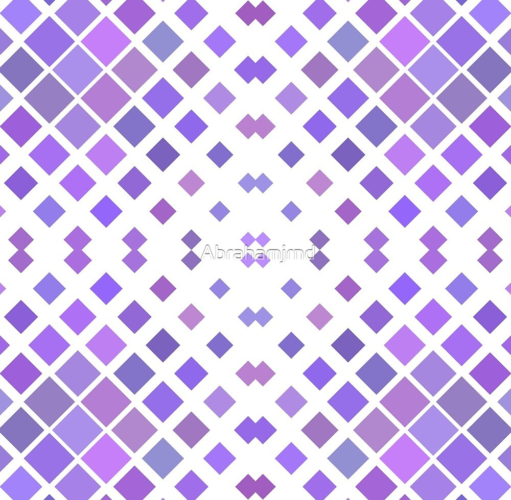 decorative artwork graphical element tile square pattern seamless colorful repeat pattern by Abrahamjrnd