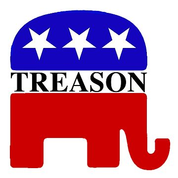 GOP Treason Elephant by Thelittlelord