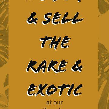 Rare & Exotic by IslandBaseCamp